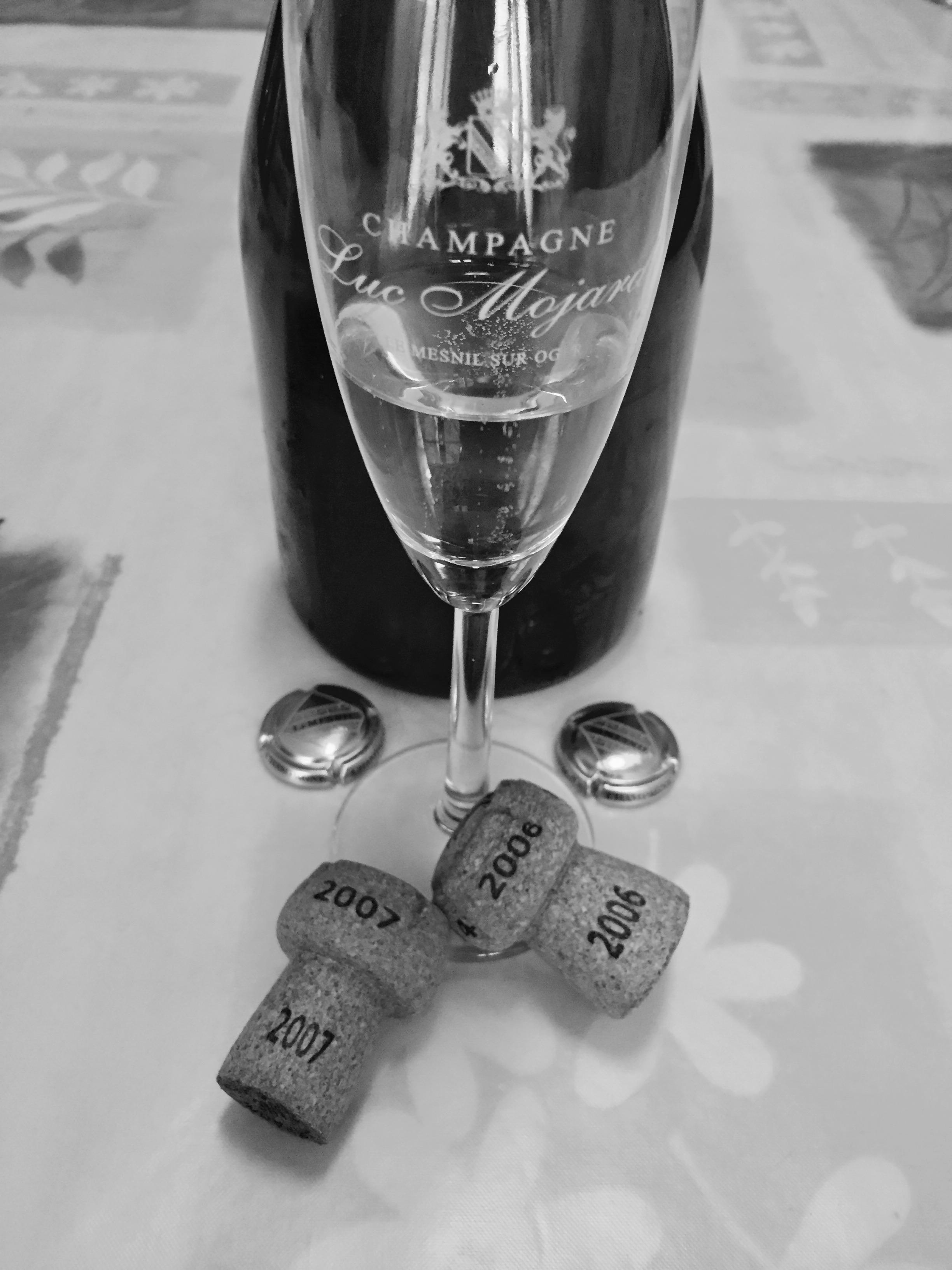 champagne luc mojard choisir verre
